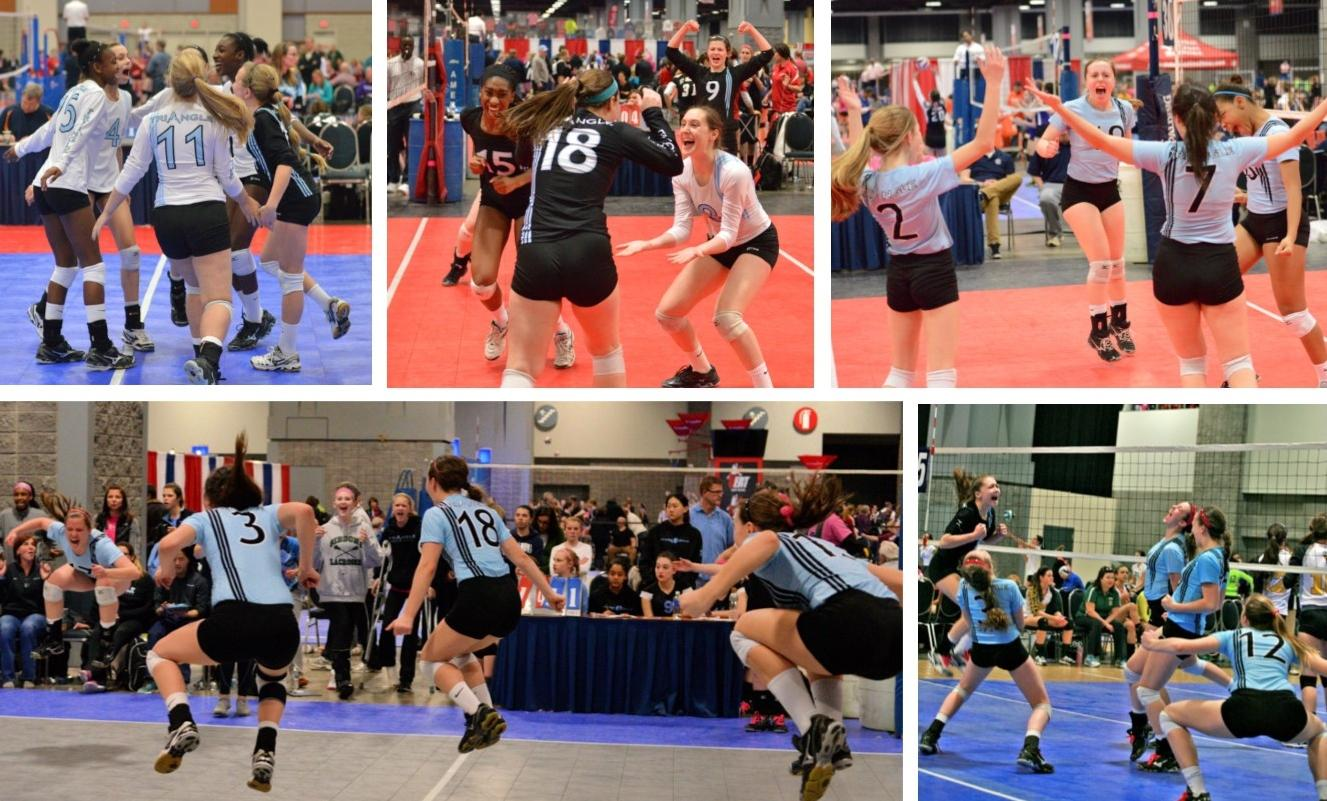 Celebrating Presidents Day Triangle Volleyball Club